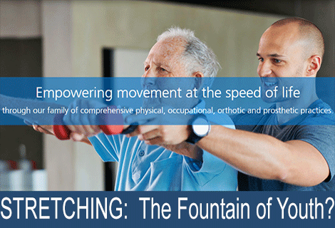 STRETCHING:  The Fountain of Youth?