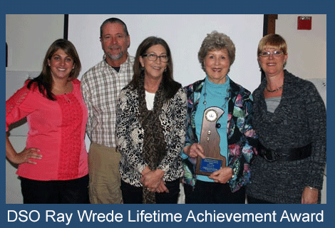 DSO Ray Wrede Lifetime Achievement Award