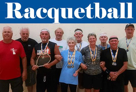 Delaware Senior Olympics 2015 Racquetball Championship
