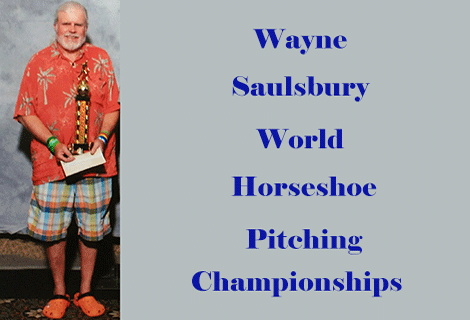 Wayne Saulsbury – World Horseshoe Championships